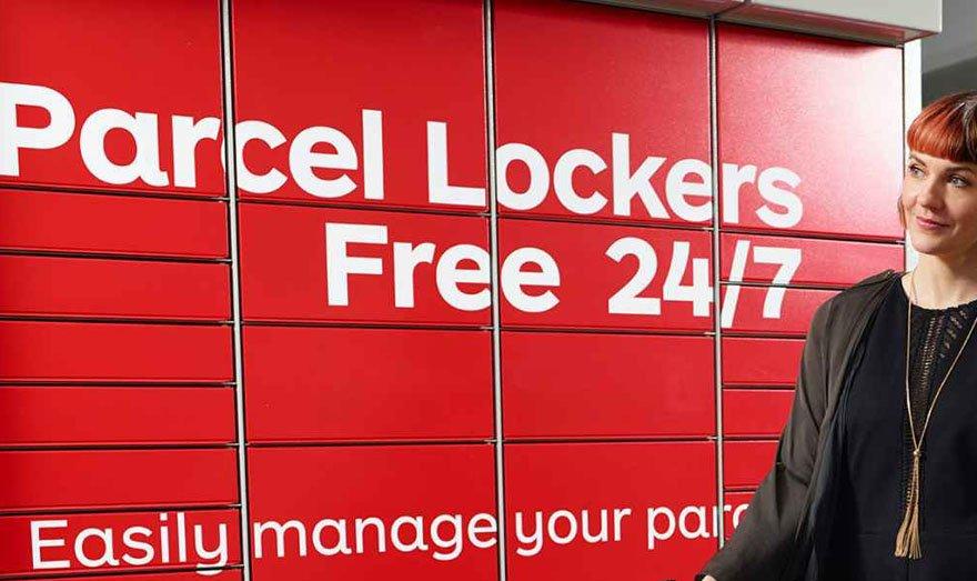 Australia Post Parcel Lockers