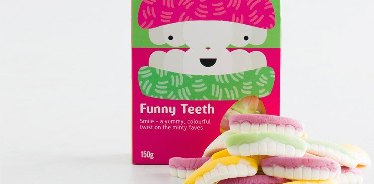 Allens Lollies Funny Teeth