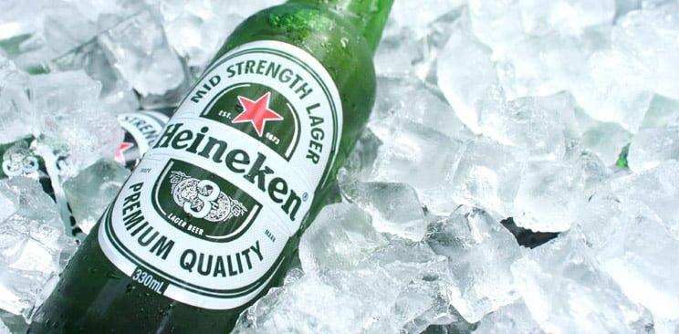 Heineken on ice