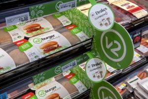V2foods display in Drakes supermarket