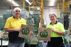 New Detpak factory team members Scott and Siobhan.