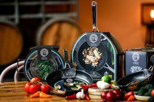 The Coles exclusive range features seven pieces of cookware to collect.