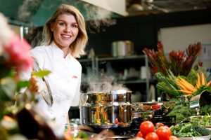 Former MasterChef contestant and TV cook Courtney Roulston.