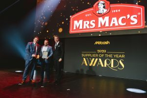 Foodservice Supplier of the Year 2020: Mrs Mac's Pies(Grant Ramage, Steven Howell, Scott Marshall).
