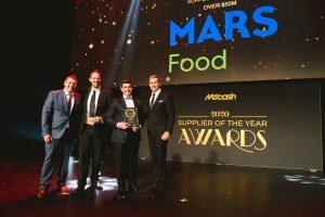 Food Supplier of the Year 2020 – over $50m: Mars Food (Grant Ramage, Joe Rigby, Ryn Bowen, Scott Marshall).