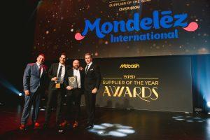 Impulse Supplier of the Year 2020 - over $50m: Mondelēz Australia (Grant Ramage, Brett MacLean, Joel Wishart, Scott Marshall).