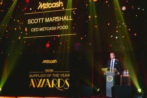 Metcash Food CEO Scott Marshall.