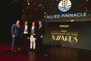 Bakery Supplier of the Year 2020: Allied Pinnacle (Grant Ramage, James Mu, Daniel Barreca, Scott Marshall).
