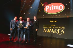 Delicatessen Supplier of the Year 2020: Primo Foods (Grant Ramage, Danny Mousely, Jamie Eastley, Scott Marshall).
