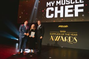 Ready Meals Supplier of the Year 2020: My Muscle Chef (Grant Ramage, Elaine Antcliff, Scott Marshall).