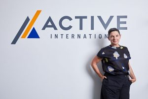 Active International Australia and Involved Media Group Managing Director Sarah Keith.
