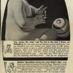 1944 Palmolive soap ad.