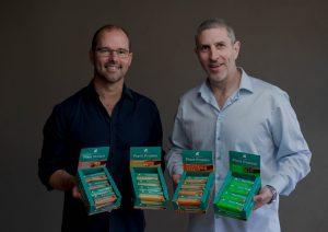Greenback founders Matt Prentice and Luke Driver.